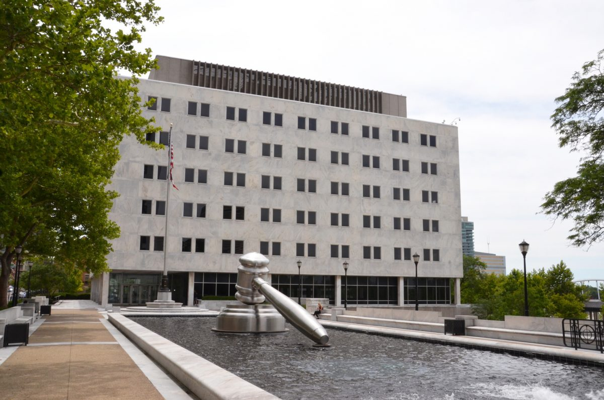 The Thomas J. Moyer Ohio Judicial Center, in Columbus, Ohio, is shown on June 28, 2017. It houses the Supreme Court of Ohio.